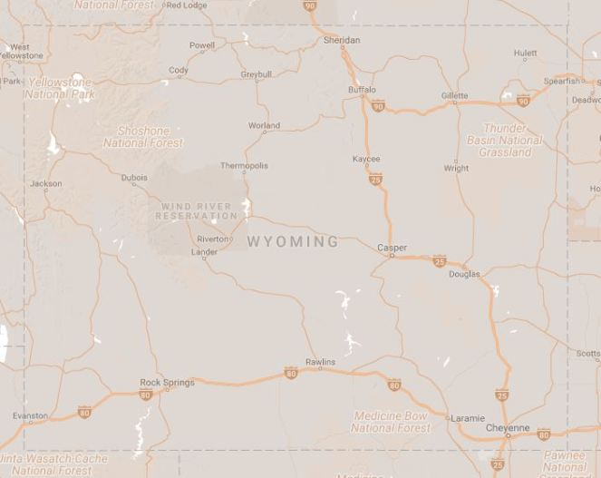 wy map